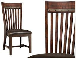 side chairs for dining room hayden dining room furniture slat back side chair by intercon