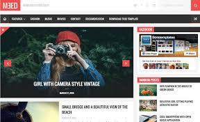 20 best free responsive photography blogger templates codiblog