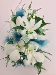 white dendrobium orchid wrist corsage centerville florists