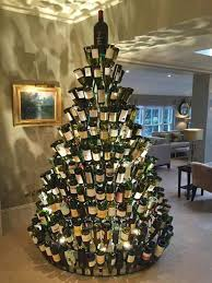 wine bottle christmas ideas 30 of the most creative christmas trees kitchen with my 3 sons