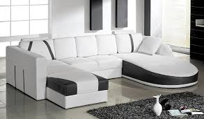 Modern White Bonded Leather Sectional Sofa Tosh Furniture Ultra Modern Sectional Sofa Set In White Flap Stores