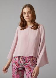 blouse for ribbed crepe blouse for giorgio armani