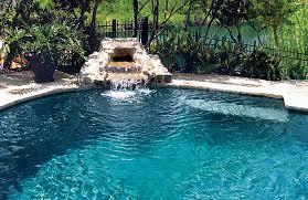 pools with waterfalls rock waterfall for pool rock waterfalls blue haven custom swimming