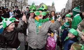 when is st patrick u0027s day 2018 all you need to know daily mail