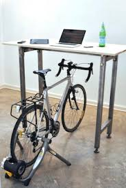 Diy Bike Desk A Desk Designed To Let Cyclists Work Out While Working Zdnet