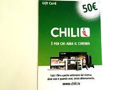 chili gift card quanto costa la gift card chili e come funziona