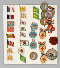 British Flag Ww1 Ww1 Flag Day Badges A Blog By Volunteer Lydia Griffiths