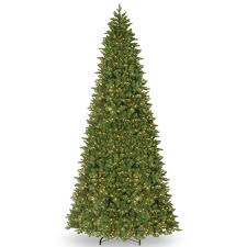 national tree company 14 ft ridgewood spruce slim artificial