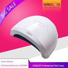 aliexpress com buy uvled profession sun 48w 24w sensor double