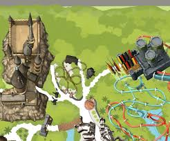 Universal Studios Orlando Map 2015 by Harry Potter And The Forbidden Journey In Hogsmeade