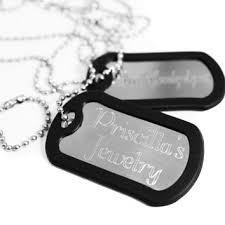 dog tag jewelry engraved shop engraved dog tag necklace on wanelo