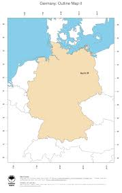 Maps Germany by Map Germany Ginkgomaps Continent Europe Region Germany