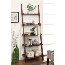Diy Ladder Bookshelf Ladder Shelf Ikea Australia Cappuccino Ladder Bookshelf 2 Storage