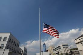 Flag Flown At Half Mast President Orders Flags Flown At Half Staff