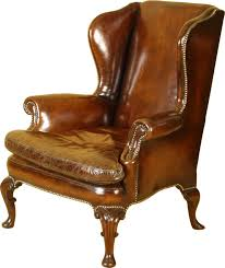 old leather armchairs wingback chairs derek has may not be a good match for what it