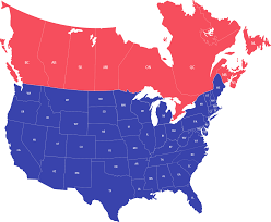 Canada And Us Map by Transportation Service Map Starship Freight Ltl Truckload
