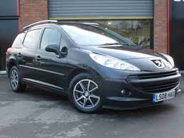 peugeot estate cars for sale peugeot 207 estate sw s just 2 owners panoramic glass roof car for sale