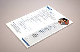 free simple professional resume template psd titanui