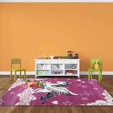 tapis pour chambre de fille pour chambre de fille licorne