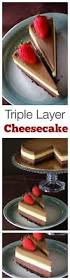 triple layer cheesecake easy delicious recipes