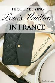 is it less expensive to buy louis vuitton in france la jolla mom