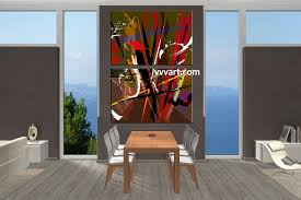 2 piece colorful abstract home decor artwork dining room photo canvas 2 piece canvas wall art abstract canvas wall art