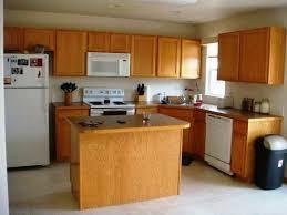 white or dark wood kitchen cabinets