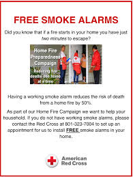 Install Smoke Detector Red Cross Home Fire Campaign Free Smoke Alarms And Volunteer