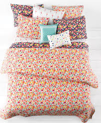 Coral Bedspread Martha Stewart Whim Collection Pretty In Poppy Bedding Collection