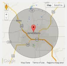 map of jonesboro ar chion portable toilets in jonesboro ar call 888 263 8822