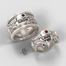 geeky wedding rings geeky wedding rings 2 bloggedd