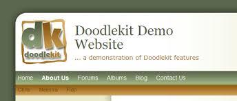 doodlekit login doodlekit s website builder gets funky fonts doodlekit
