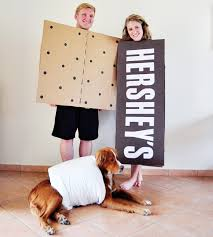 family halloween costume diy s u0027mores costumes with dog via