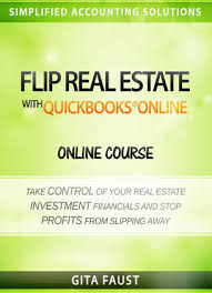quickbooks tutorial real estate real estate with quickbooks online video course