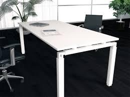 bureau de direction blanc bureaux de direction design en métal blanc achat bureaux de