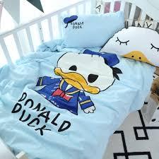 Duck Crib Bedding Set Donald Duck Baby Bedding Set Cot Crib Bedding Set For
