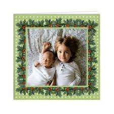 christmas card template free printable photo greeting cards download