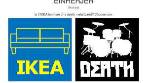 can you tell the difference between ikea furniture and a death