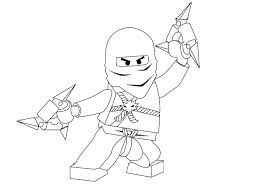 free printable ninjago coloring pages for kids throughout red