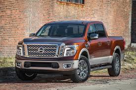 nissan titan v8 mpg 2017 nissan titan v 8 crew cab first drive road test and review