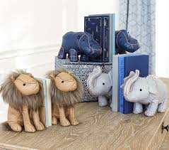 bookends lion lhuillier bookends pottery barn kids