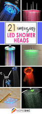 bathroom shower head ideas 21 best led shower heads ideas and designs for 2017