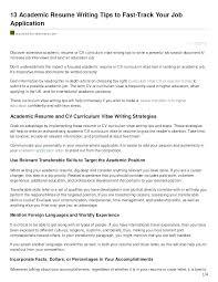 resume for graduate school academic resume for graduate school