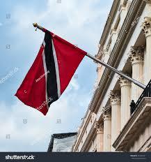 Outside Flag Trinidad Tobago High Commission London Flag Stock Photo 251843191