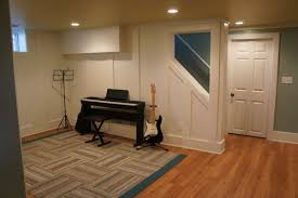 Laminate Floors In Basement Half A House U201d Gained In Basement Remodel Bluestem Construction