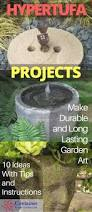 Container Water Gardens Make Lightweight Garden Art Projects That Last With Hypertufa