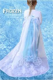 diy frozen elsa dress tutorial the cape kiki u0026 company