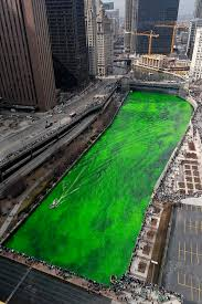 the chicago river turning green for st patrick u0027s day
