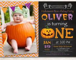 1st birthday halloween invitations iidaemilia com