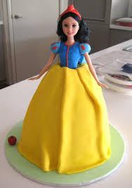 sugary flower snow white princess cake